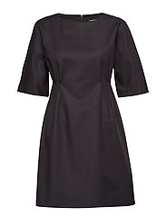 LUMINANSSI SOLID Dress - BLACK