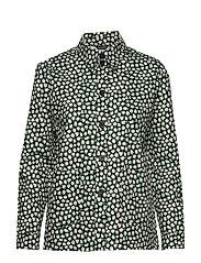 LEIKKI PIKKU VIKURI Shirt - BLACK, WHITE, GREEN