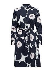TRINA 2 UNIKKO Dress - BLACK, BEIGE, OFF-WHITE