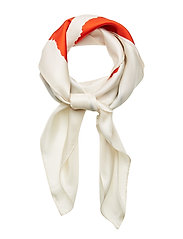 SERIFIA VIKURI Scarf - WHITE,RED,GREEN