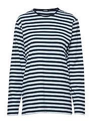 PITKÄHIHA 2017 Shirt - LIGHT BLUE, DARK BLUE