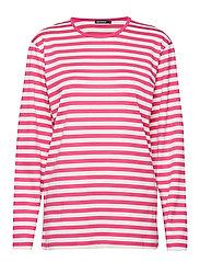 PITKÄHIHA 2017 Shirt - PINK, OFF WHITE