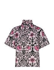 SOHVI JUHANNUS Shirt - GREEN, ROSE, PINK