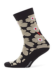 HIETA Ankle socks - BLACK, BEIGE, ORANGE
