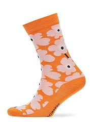 HIETA Ankle socks - ORANGE, PINK, DARK GREEN