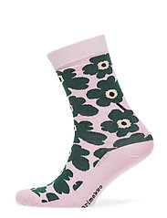 HIETA Ankle socks - PINK, DARK GREEN, BLACK