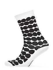 SALLA RÄSYMATTO Ankle socks - WHITE, BLACK