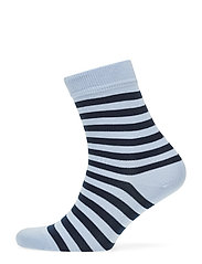 RAITSU Ankle socks - LIGHT BLUE, DARK BLUE