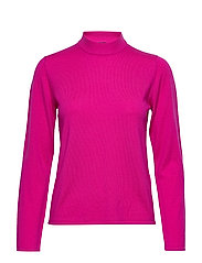 MARMORI SOLID Knitted pullover - PINK