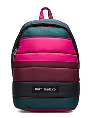 LOLLY VIIMA backpack - PINK,DARK GREEN,BLACK