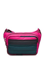 BILLIE VIIMA Shoulder-bag - PINK,DARK GREEN,BLACK