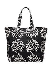 PERUSKASSI PUKETTI Bag - BLACK,WHITE,BLACK