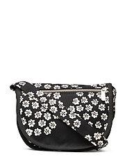 FIDELMA PUKETTI Shoulder-bag - BLACK,WHITE,BLACK