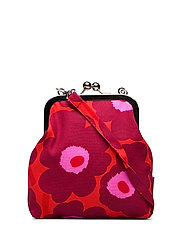 ROOSA MINI UNIKKO Shoulder-bag - RED,DARK RED,PINK