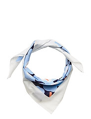 TAISA MINI UNIKKO SCARF - BLUE, WHITE, PEACH