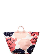 ROIMA PIONI Bag - OFF WHITE,CORAL,DARK BLUE