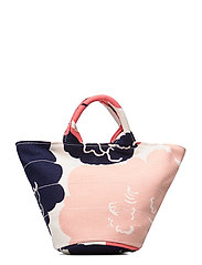 PIKKU ROIMA PIONI Bag - OFF WHITE,CORAL,DARK BLUE
