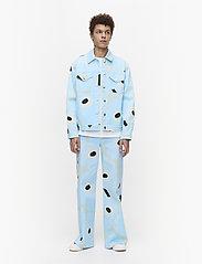 Marimekko - RANTA UNIKKO JACKET - vestes en jean - blue, green, turquoise - 3