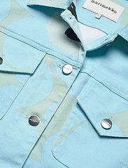 Marimekko - RANTA UNIKKO JACKET - farkkutakit - blue, green, turquoise - 4