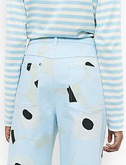 Marimekko - LUOTAUS UNIKKO - pantalons larges - green, blue, turquoise - 3