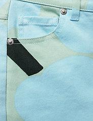 Marimekko - LUOTAUS UNIKKO - pantalons larges - green, blue, turquoise - 4