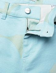 Marimekko - LUOTAUS UNIKKO - pantalons larges - green, blue, turquoise - 5