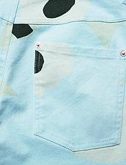 Marimekko - LUOTAUS UNIKKO - pantalons larges - green, blue, turquoise - 6