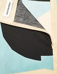Marimekko - KUUSIKULMIO KIILA SKIRT - maxi nederdele - beige, turquoise, black - 3
