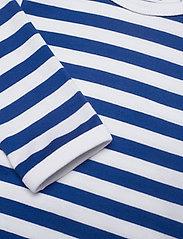 Marimekko - VINDE TASARAITA BODYSUIT - długie rękawy - white, blue - 2