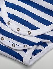 Marimekko - VINDE TASARAITA BODYSUIT - długie rękawy - white, blue - 3