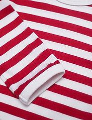 Marimekko - VINDE TASARAITA BODYSUIT - długie rękawy - white, red - 2
