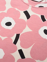Marimekko - SOIDA MINI UNIKOT - krótki rękaw - beige, rose, black - 2