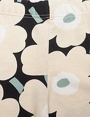 Marimekko - LAIRI MINI UNIKOT - leginsy - black, beige, light green - 2
