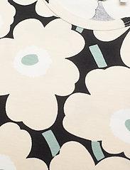 Marimekko - IHAILLA MINI UNIKOT DRESS - sukienki - black, beige, light green - 2