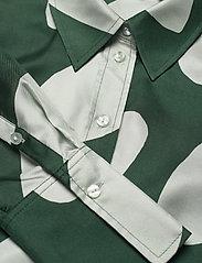 Marimekko - TOIVEIKAS LINSSI SHIRT - langærmede skjorter - light green, dark green - 2