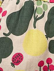 Marimekko - KUKKINUT PIENI TORI TROUSERS - bukser med brede ben - green, rose, yellow - 5