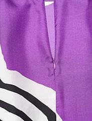 Marimekko - HUMISEE VUOLU SHIRT - langærmede bluser - violet, off-white, black - 3