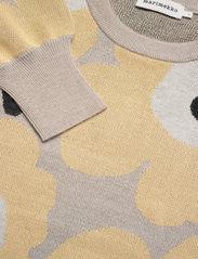 Marimekko - HELMIOKSA UNIKKO PULLOVER - trøjer - beige,light yellow,black - 2