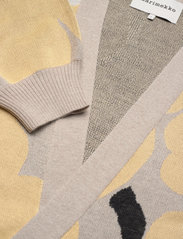 Marimekko - UNEKSUVA UNIKKO CARDIGAN - cardigans - beige,light yellow,black - 2