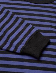 Marimekko - JUURET TASARAITA TUNIC - sweatshirts - black, blue - 2