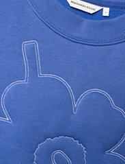 Marimekko - HUIPENNUSTA UNIKKO SWEATSHIRT - sweatshirts - blue, multicolored - 2