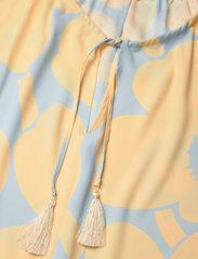 Marimekko - KORKEAAN PIENI UNIKKO 2 DRESS - hverdagskjoler - turquoise, yellow - 2