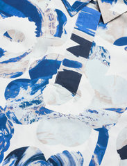 Marimekko - SINILILJA MAISEMA UNIKKO DRESS - hverdagskjoler - off-white, sand, blue - 2