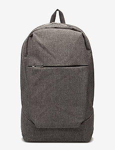 KORTTELI CITY BACKPACK - rygsække - melange grey
