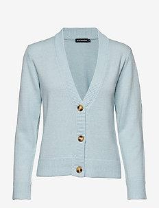 APHELI Knit cardigan - LIGHT BLUE