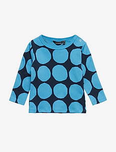 RUUPERTTI MINI KIVET 1 Shirt - BRIGHT BLUE, DARK BLUE