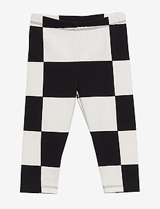 LAIRI KUKKO JA KANA Trousers - BLACK, OFF WHITE