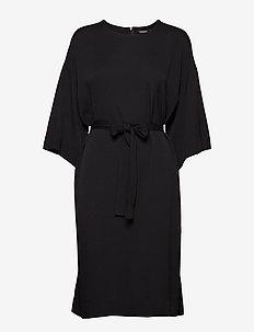 TODELLINEN SOLID Dress - BLACK