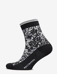 SALLA AURINGON ALLA Ankle socks - GREY, BLACK, WHITE