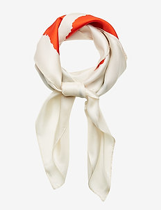 SERIFIA VIKURI Scarf - WHITE,RED,GREEN